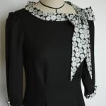 Robe noire lavallière Liberty 2